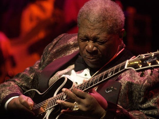 B.B. King plays at the Flynn Theater in Burlington