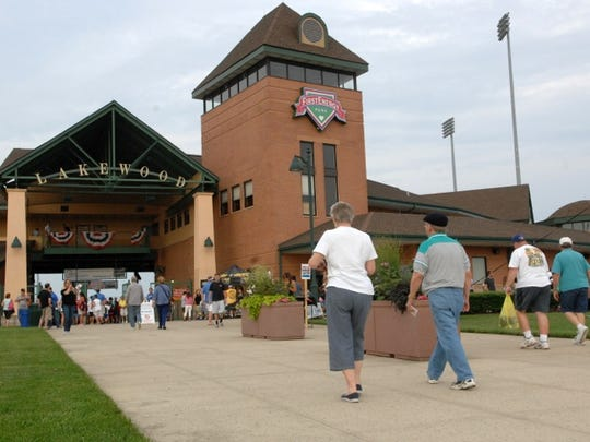 FirstEnergy Park in Lakewood will host the Jersey Shore Wine Festival this weekend.