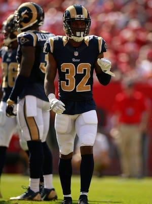 Cornerback Troy Hill, a St. Bonaventure High graduate, is back in the starting lineup for the Rams.