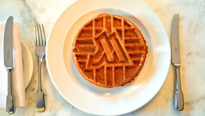 Guests staying at the London Marriott Hotel County Hall can take breakfast to the next level by indulging in Marriott-branded waffles available year-round.