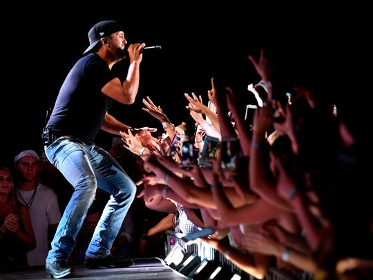 "Luke Bryan brings his ""Sunset Repeat Tour"" to FedExForum on Oct. 10."