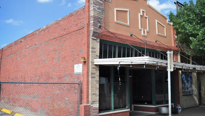 Seen in a file photo, the historic building at 616 7th Street will be the location of Hook & Ladder Wine and Coffee Company. It was built in 1884 and is the oldest brick building in Wichita Falls. Up to $16,000 in 4B funds were approved for the business to upgrade plumbing and electrical systems. It is expected to be open in March 2018.