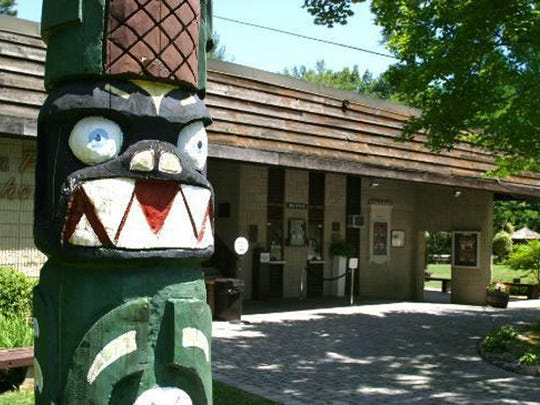 Totem Pole Playhouse is located off Pa. 233 at Caledonia State Park near Fayeteville.