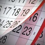 Calendar 10/25/2016