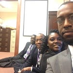 NAACP president, others taken into custody during Sessions sit-in
