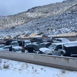 Snow, traffic and frigid temps