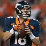 Broncos QB Peyton Manning