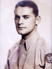 WWII vet Iver Brook when he was 19, just out of Radio