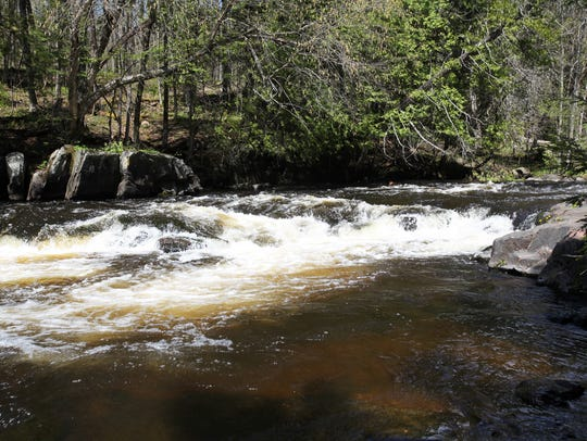Bagley Rapids Campground in the Chequamegon-Nicolet