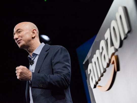 Amazon.com founder and CEO Jeff Bezos at times has