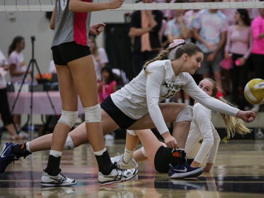 """Highlights from the """"volleyball game of the year."""""""