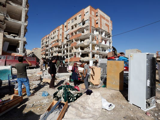 EPA IRAN EARTHQUAKE AFTERMATH DIS EARTHQUAKE IRA KE