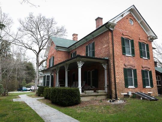 The farm house at the Historic Johnson Farm in Hendersonville.