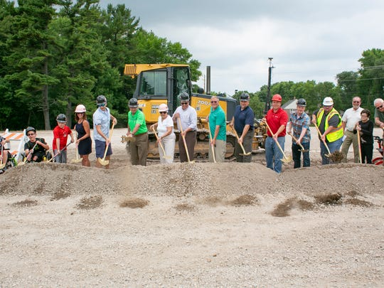The Shaw Family Playground in Sheboygan broke ground on Monday, July 16 in Sheboygan. The playground is scheduled to be finished by the end of the summer and have a ribbon cutting in September.