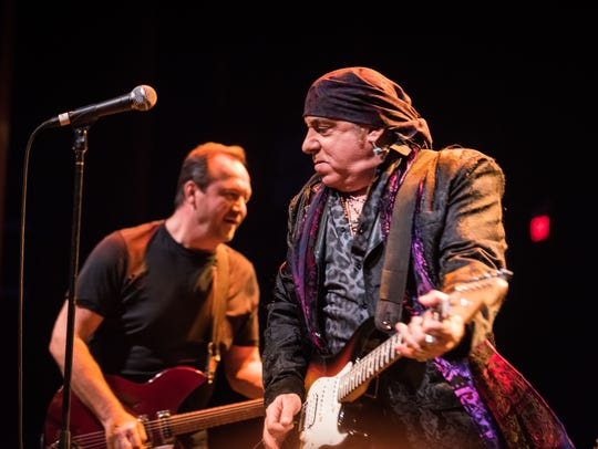 Jim Babjak and Stevie Van Zandt at the Basie