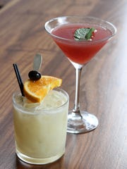 A Mai Tai and Miss Parker ar B2 Bistro and Bar.