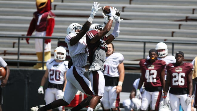 ULM's scrimmage on Sunday afternoon is its last of fall camp. The Warhawks will begin preparing for Memphis the following week.