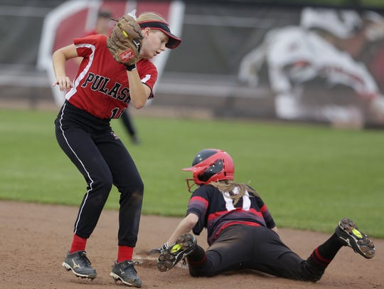 SPASH junior lead-off hitter Ally Miklesh can be a