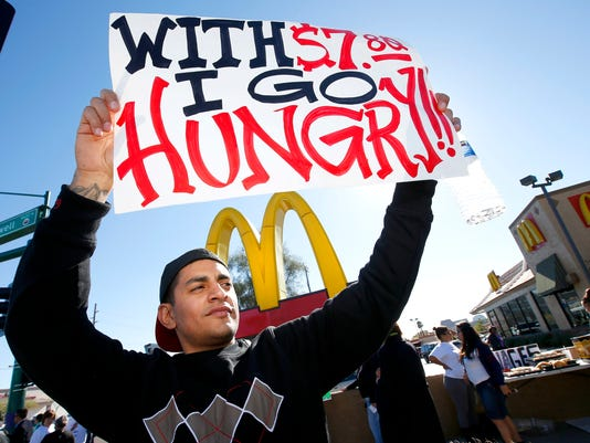 AP Fast Food Protests