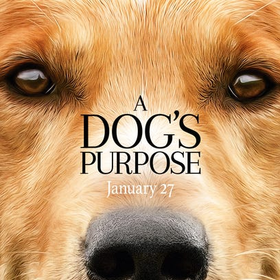 The poster for 'A Dog's Purpose.'