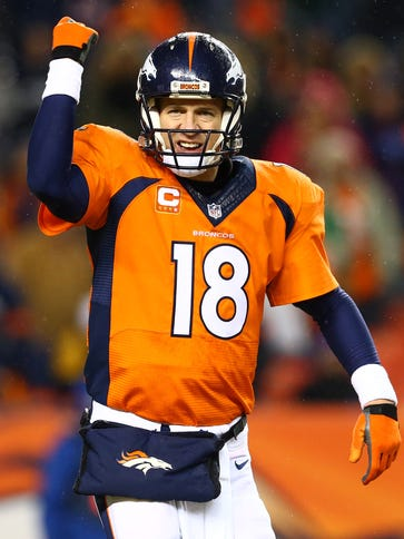 QB Peyton Manning is the NFL's only five-time MVP.