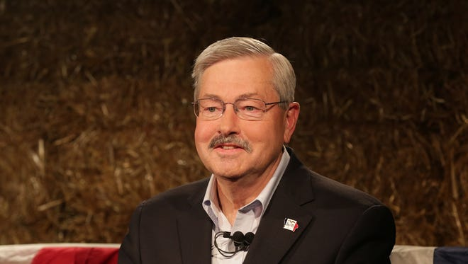 Iowa Gov. Terry Branstad and Oregon's John Kitzhaber are the only current mustachioed governors, according to the Washington Times.
