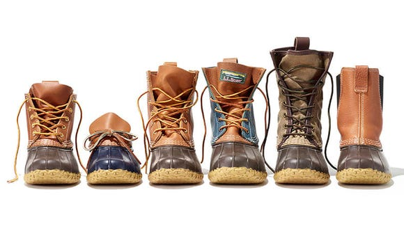 Bean Boots are quintessential for fall and winter.