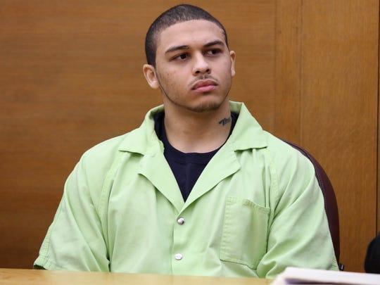 """Jorge """"Lumni"""" Sanders-Galvez, 23, of St. Louis, one"""