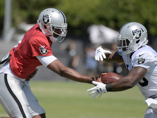 Running back James Butler didn't dress in Week 2 on the NFL preseason. His time on the Oakland roster could be ending soon.