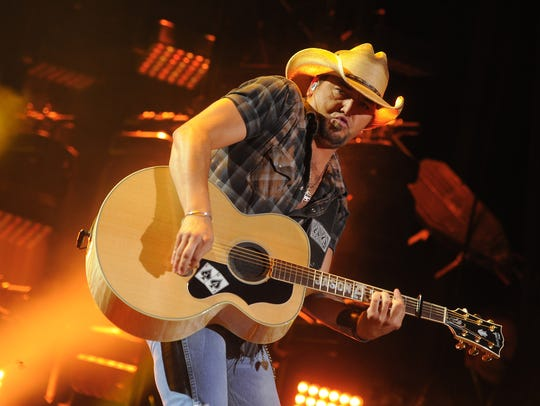 Jason Aldean is coming to CMAC Saturday, Aug. 10.