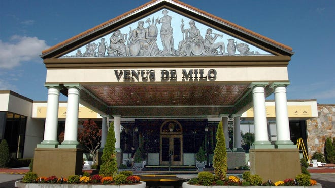 The iconic Venus de Milo, on Route 6 in Swansea, is for sale for almost $5 million.