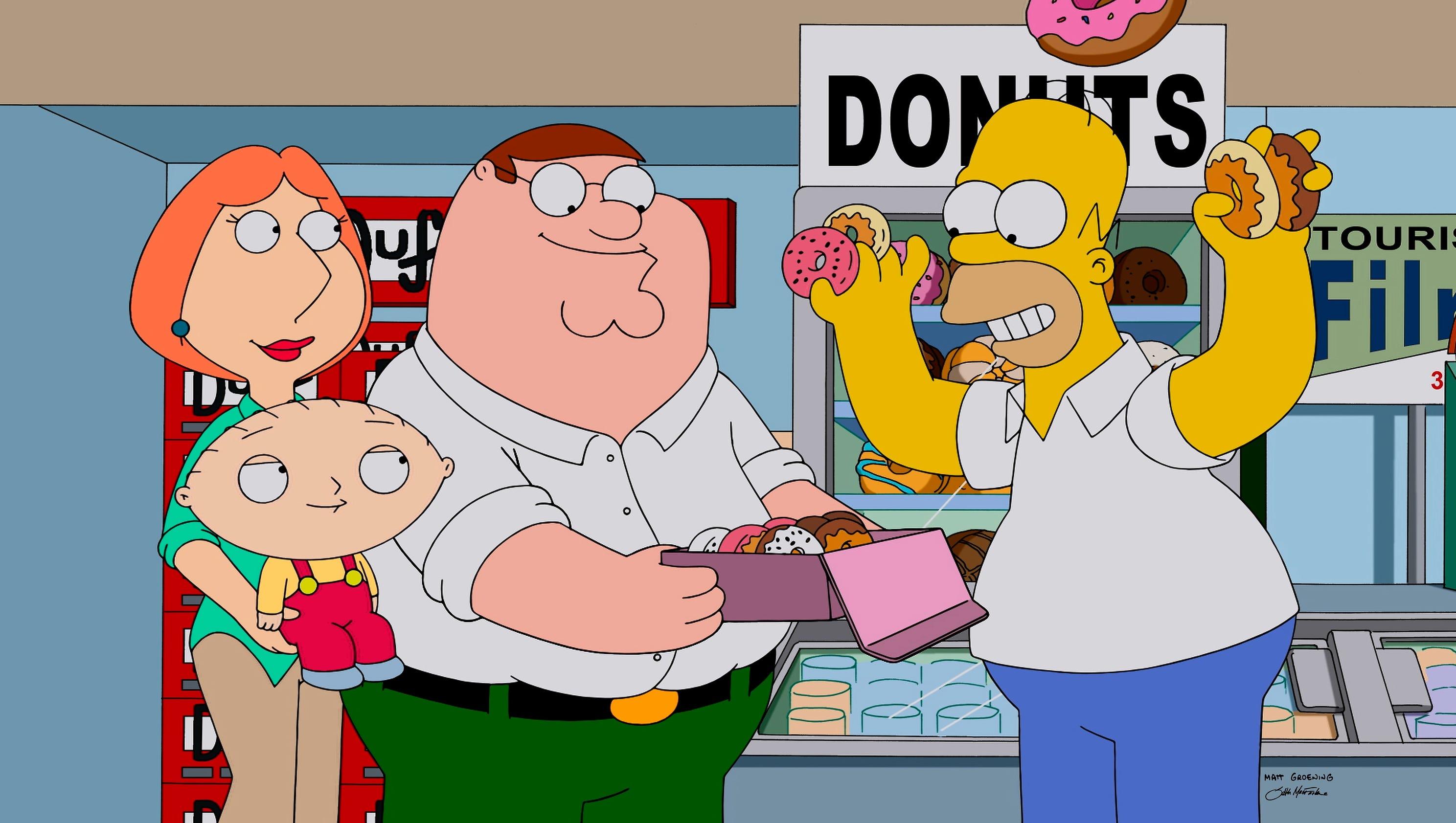 TV tonight: Family Guy/Simpsons redo, Supernatural