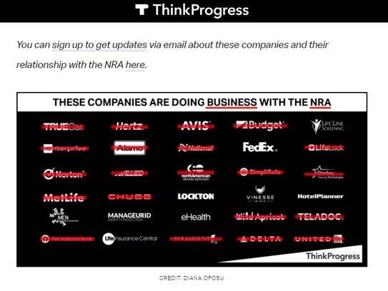 ThinkProgress.org posted graphic Feb. 20.