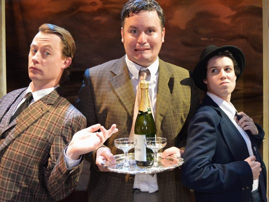 """""""One Man, Two Guvnors."""""""