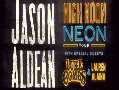 See Jason Aldean with Luke Combs And Lauren Alaina 5/12 at the Iowa Events Center. Enter 2/6-2/25