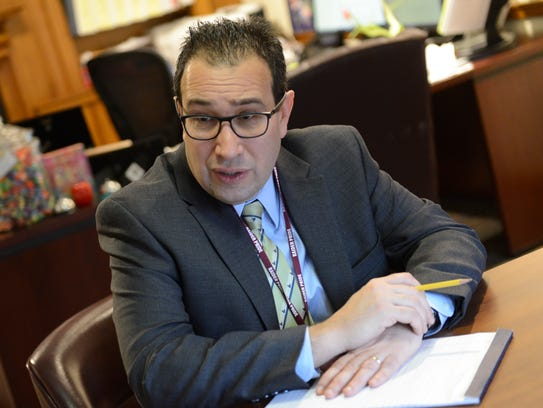 Facing a possible reduction in aid, Englewood Superintendent