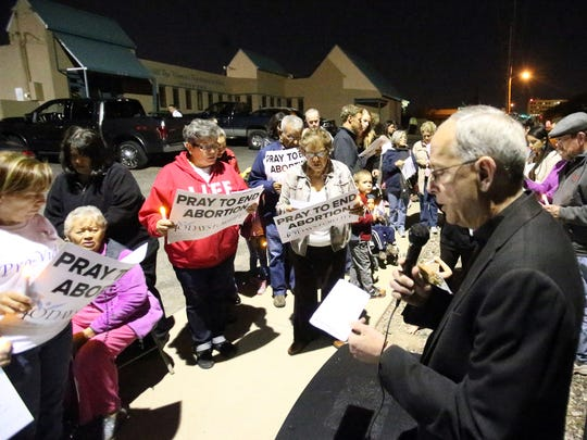 In this 2016 file photo, El Paso Catholic Diocese Bishop