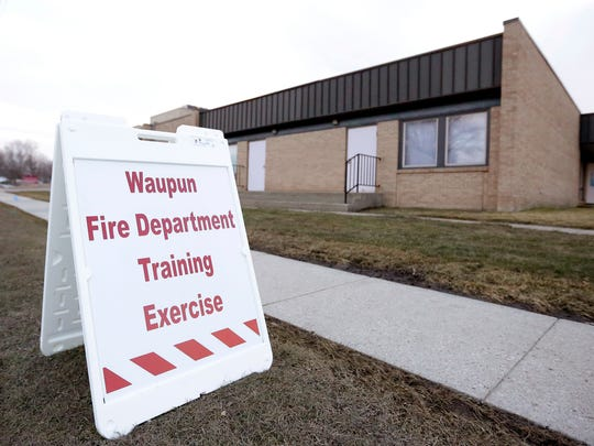 A sign outside the former Waupun Area Clinic alerts