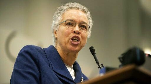 Cook County Board President Toni Preckwinkle, testified before state lawmakers Tuesday about potential police reforms.