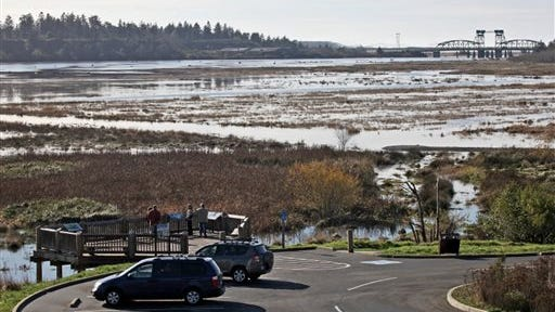The Bandon Marsh National Wildlife Refuge, a 400-acre salt marsh restoration, has produced hordes of mosquitoes.