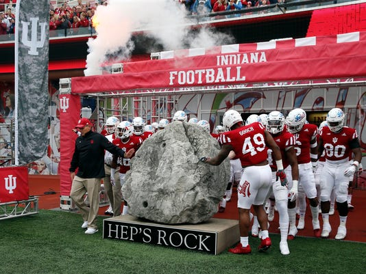 NCAA Football: Wisconsin at Indiana
