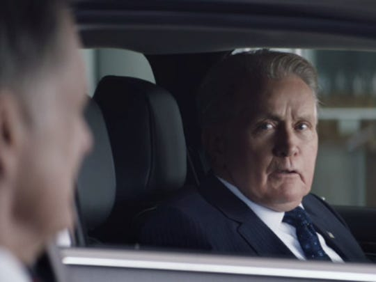 """Actors Martin Sheen (right) and Bill Pullman star in Fiat Chrysler Automobiles NV's new ad campaign for the Chrysler 200 and 300 sedans that feature the new tagline, """"Premium to the people."""""""