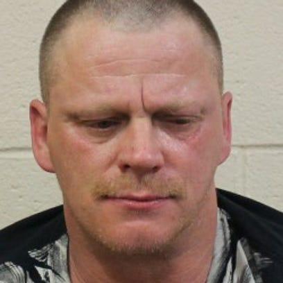 Murder suspect Douglas M. Harlow.