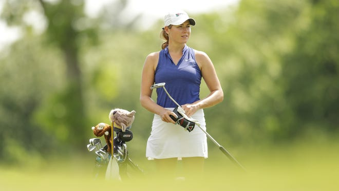 Webster native Tessa Teachman is a member of the Symetra Tour.