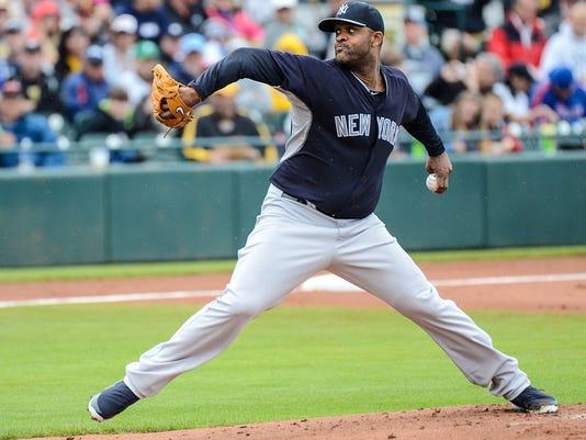 Yankees CC Sabathia spring training 2014