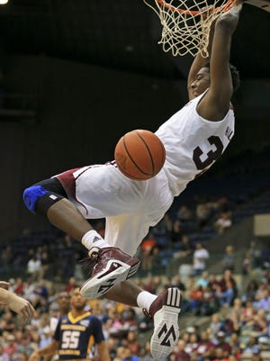 Mississippi State freshman Aric Holman feels better than ever after knee surgery.