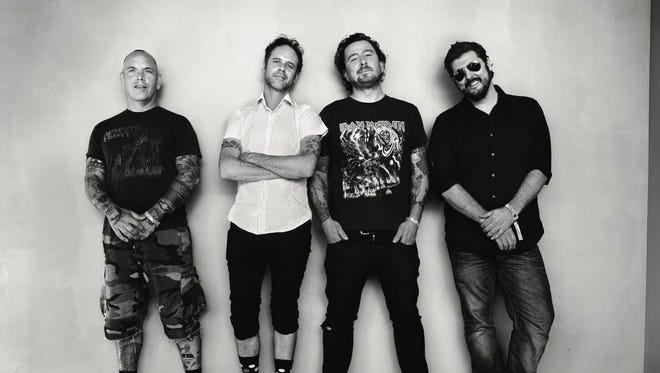 The Bouncing Souls return to the Stone Pony Summer Stage on Friday night.