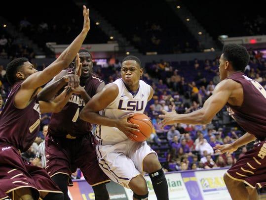NCAA Basketball: Charleston at Louisiana State