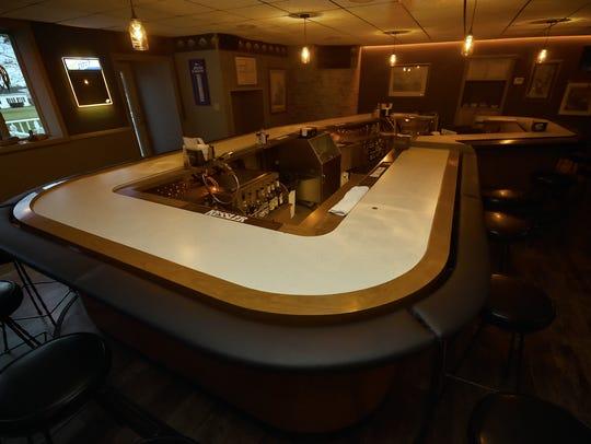 The bar at the Alaskan Motor Inn opened last month
