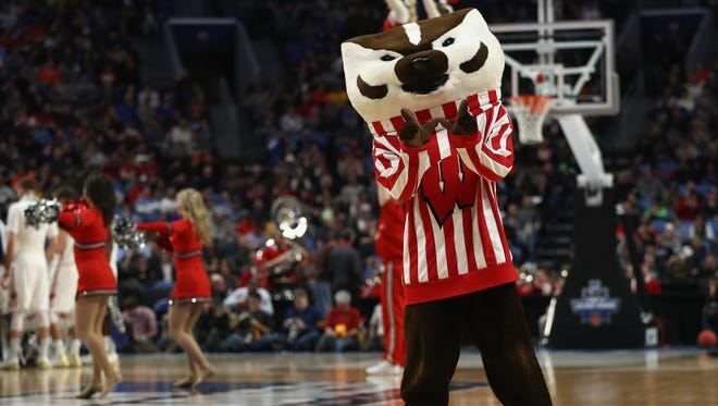 Bucky and the Badgers will be at Madison Square Garden in New York on Friday night for a Sweet 16 showdown with Floria.